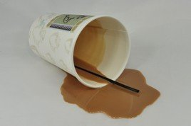 Image result for spilled coffee cups