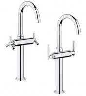 Atrio 2-Handle Single-Hole High Arc Vessel Bathroom Faucet - 1.5 GPM ()