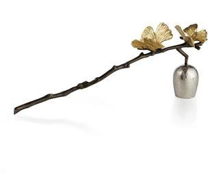 Michael Aram Butterfly Ginkgo Candle Snuffer by Michael Aram