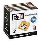 Iomega Zip 100 MB PC Formatted Disks (6 pack)
