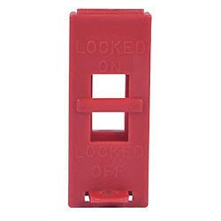 ZING 6064 RecycLockout Lockout Tagout, Wall Switch Lockout, Recycled Plastic (40 Pack) by ZING GREEN SAFETY PRODUCTS (Image #1)