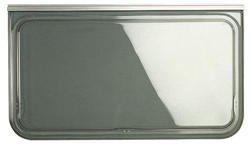 Brunner Campingartikel Ausstellfenster Polyplastic Grau 1300 X 550 Country 91, 207/186