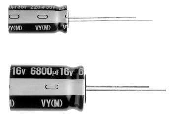 Aluminum Electrolytic Capacitors - Radial Leaded 400volts 4.7uF 10x12.5 & 39;20% 5LS, Pack of 100 (UVY2G4R7MPD)