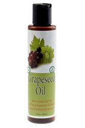 100% Pure-Cold Pressed Grapeseed Oil 4oz. by Sweet Sunnah