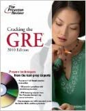 Book Cracking the GRE W/DVD, 2010 Edition (DVD edition)[Grad Student Test Prep]