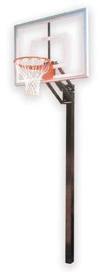 最初チームChamp III steel-acrylic in ground調整可能バスケットボールsystem44、ロイヤルブルー B01HC0CBY8