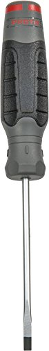 Stanley Proto JC31604R Duratek Slotted Round Bar Cabinet Screwdriver, 3/16-Inch by 4-Inch ()
