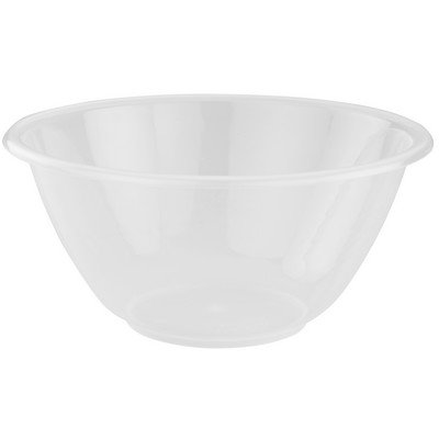 Indispensable Whitefurze 25cm Large Plastic Mixing Bowl (Neoteric Design) [Pack of 10]