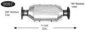 Direct Fit Catco 9067 Federal EPA Catalytic Converter