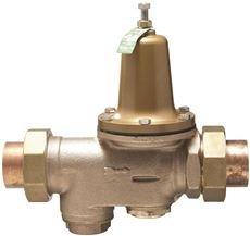 WATTS WATER PRESSURE REDUCING VALVE, SERIES LF25AUB, 3/4 IN. LEAD FREE