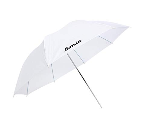 Sonia Professional White Umbrella 100cms 36 inch/91cm for Photography Studio LED Video Light Flash Camera Flash Video Light Stand
