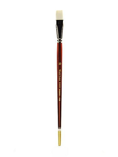 Robert Simmons White Sable Long Handle Brushes 20 bright 760B by Robert Simmons