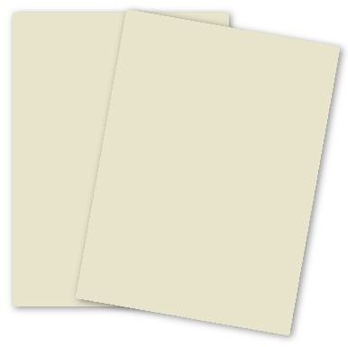 Earthchoice Cream 8-1/2-x-11 Lightweight Multi-use Paper 500-pk - 104 GSM (28/70lb Text) PaperPapers Letter size Econo Everyday Paper - Professionals, Designers, Crafters and DIY Projects by Paper Papers