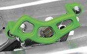 04-18 KAWASAKI KX250F: TM Designworks Brake Caliper Guard (GREEN)