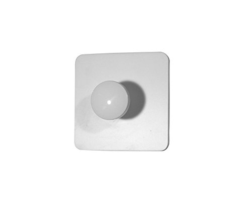 Nylon Robe Hook F30AKN01W1 with Corian Plate, Single