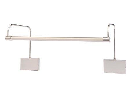 Slim Led Satin - LED Satin Nickel Hardwire 43 inch Tru-Slim Hardwire Picture Light