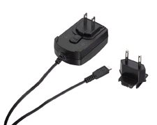 RIM HDW-17957-003 BlackBerry 9500 Storm, Torch, Bold Micro-USB AC Charger with Fixed US ()