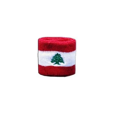 Digni reg Lebanon Wristband sweatband set pieces free sticker Estimated Price £6.95 -