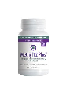 D'Adamo Personalized Nutrition Methyl 12 Plus, 60 Count