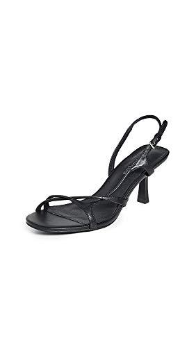 Jeffrey Campbell Women's Parasite Sandals, Black, 7.5 M US