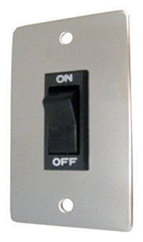 11 Slide Switch (Prime Products 11-0190 Rocker Switch with Chrome Plate)