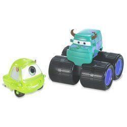 Disney Pixar Cars 2-Pack: Mike & Sulley Movie Moments -