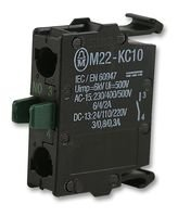 CONTACT BLOCK, 1NO, SCREW M22-KC10 By EATON MOELLER M22-KC10-EATON MOELLER
