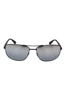 5700e10c3f Amazon.com   Ray Ban Rb 3528 006 82 - Black silver Polarized Sunglasses For  Men   Beauty