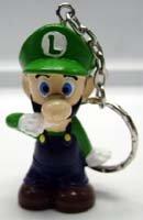 MARIO BROS.: Chibi Luigi key chain