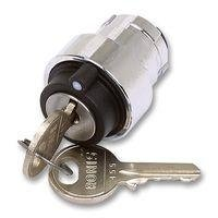 Chint NP2-BG3D 3 Position Head Only Key Switch, Locking Key, Remove All Position Chint Europe (UK) Ltd