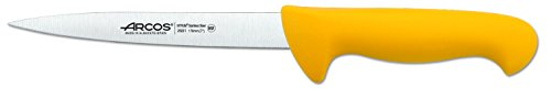Arcos 2900 Range 7-Inch Slicing Knife, Yellow by ARCOS