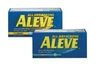 275792 Aleve Caplets 220mg 100 Per Bottle by Bayer Consumer Products -Part no. 275792 (Caplets 220)