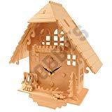Wood Craft Assembly Cuckoo Clock Wooden Construction Clock Kit