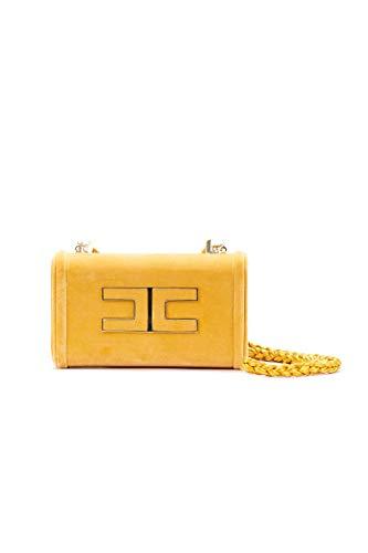 De Amarillo Hombro Elisabetta Mujer Bolso Bs45a88e2630 Terciopelo BTnFzqw