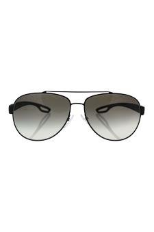 ba2d972ebd Amazon.com   Prada Sps 55q Dg0-0a7 - Black Rubber grey Gradient Sunglasses  For Men   Beauty