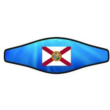- Innovative Scuba Mask Strap Wrapper (One Size, Florida State Flag)
