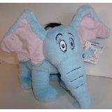 "Horton Hears a Who Elephant Dr Seuss by Kohls Cares 8"" tall 11"" long"