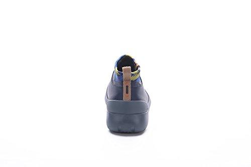 Uin Mens Canberra De90microfiber Slip-on Reisschoenen, Fasion Comfort Casual, Bruin Zwart