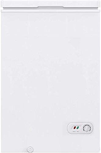 COOLLIFE 3.5 Cubic Feet Chest Freezer wi