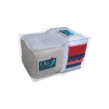 Amazon Com Otis Pulsar 8 Quot Futon Mattress Contour Firm Full Split Loveseat Ottoman 54 Quot X 21 Quot Kitchen Amp Dining