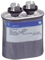 Film Capacitor, Motor Run, 8 µF, GEM III 27L Series, 660 V, Quick Connect, Snap-In, ± 6% by Genteq
