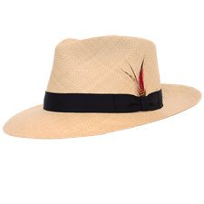 DelMonico Kevin Panama Hat-Natural-XXL