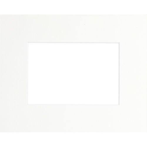 Brio Passepartout, 20x30cm, Öffnung: 13x18cm, gebrochenes Weiß