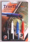 TRUE TIP Pen Cap Stylus 4-Pack, Colors Vary, New (New Pda Stylus Pen)