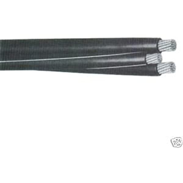 325/' Notre Dame 1//0-1//0-1//0-2 Aluminum URD Cable Direct Burial Wire 600V