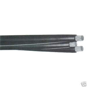250\' Monmouth 4/0 4/0 4/0 Aluminum URD Triplex cable Direct Burial ...