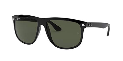 Ray-Ban RB4147 Boyfriend Black/Polarized Lens Fashion, Black, Size 60 mm from Ray-Ban