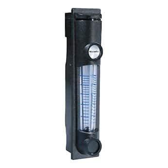 Water Stainless Steel,no Valve Cole-Parmer Polycarbonate Flowmeter.2-2.5 GPH