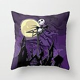 Busy Deals New Halloween Purple Sky With Jack Skellington Iphone ? Pillowcase Home Decoration pillowcase covers