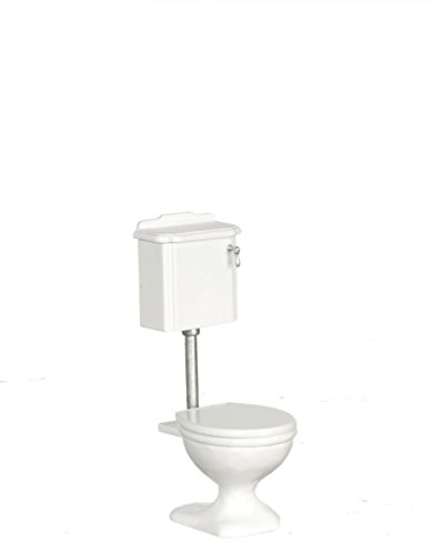 1:12 Scale White Avalon Toilet #P5228 (Avalon Toilet)
